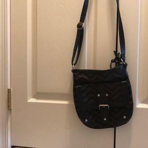 Black and grey bag
